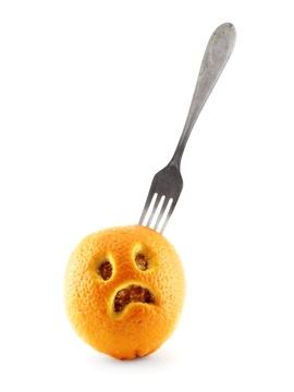 Sad Orange (0245)